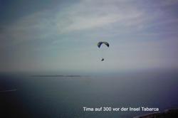 Tima vor Tabarca, einer kleinen Insel vor Santa Pola. Foto: AEROMAX