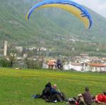 Paragliding Reise Bericht Europa Italien Venetien,Bassano,Der PAN