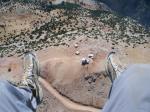 Paragliding Reise Bericht ,Martin,auf 2.200 über dem Gipfel