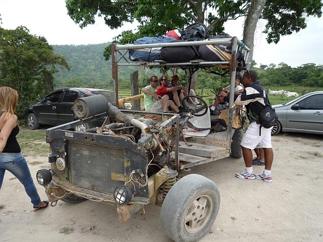 Das Transportmittel schlechthin. Wir überlebten es!!
