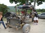 Paragliding Reise Bericht Südamerika » Brasilien,Brasilianischer Föhn!,Das Transportmittel schlechthin. Wir überlebten es!!